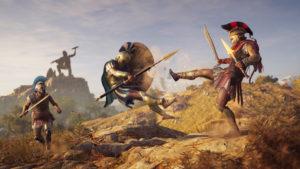 Assassins Creed: Odyssey Spartan Kick