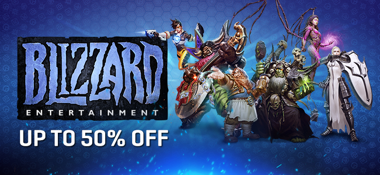 Blizzard Games Sale 2018