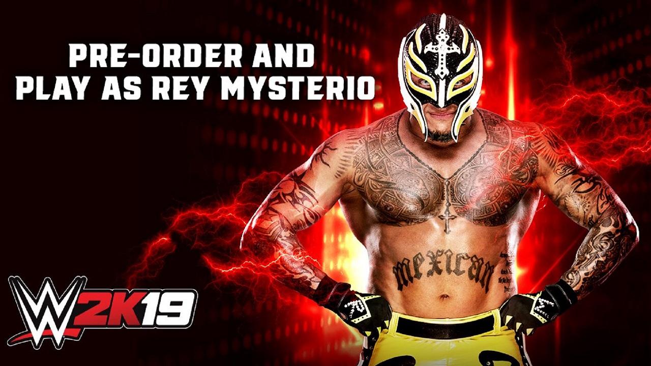 WWE 2K19 Pre-order Bonus