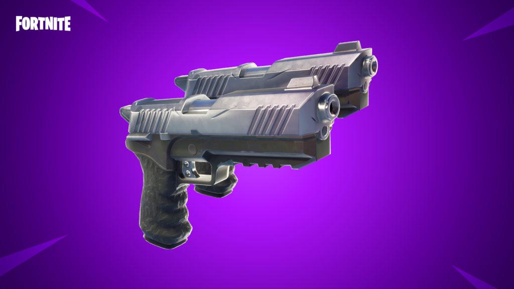 Fortnite v4.5 Patch Notes Dual Pistols