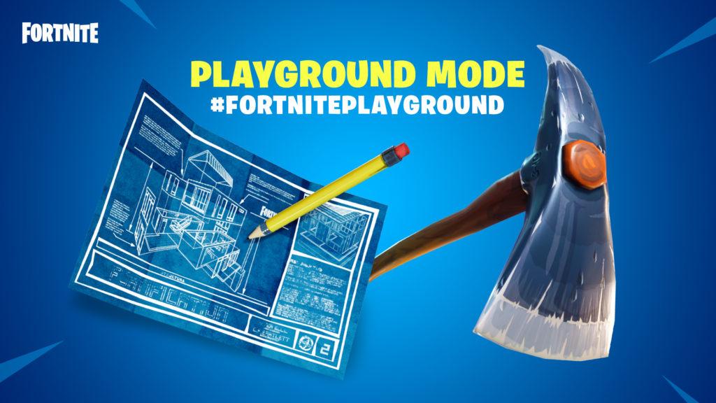 Fortnite v4.5 Patch Notes Playground LTM