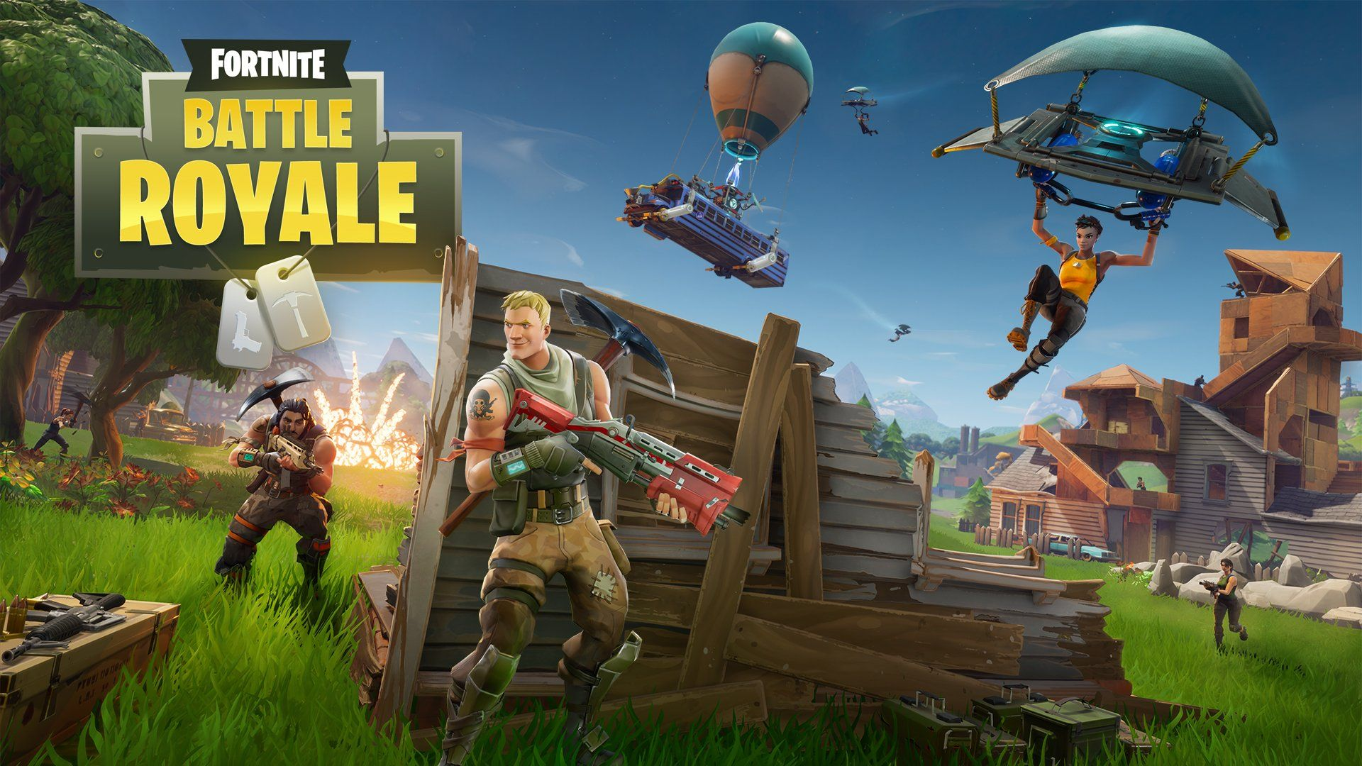 Fortnite Battle Royale Season 4