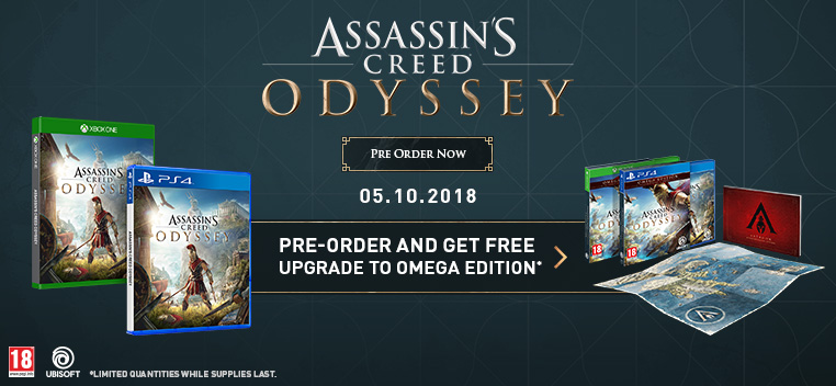Pre-order Assassin's Creed: Odyssey