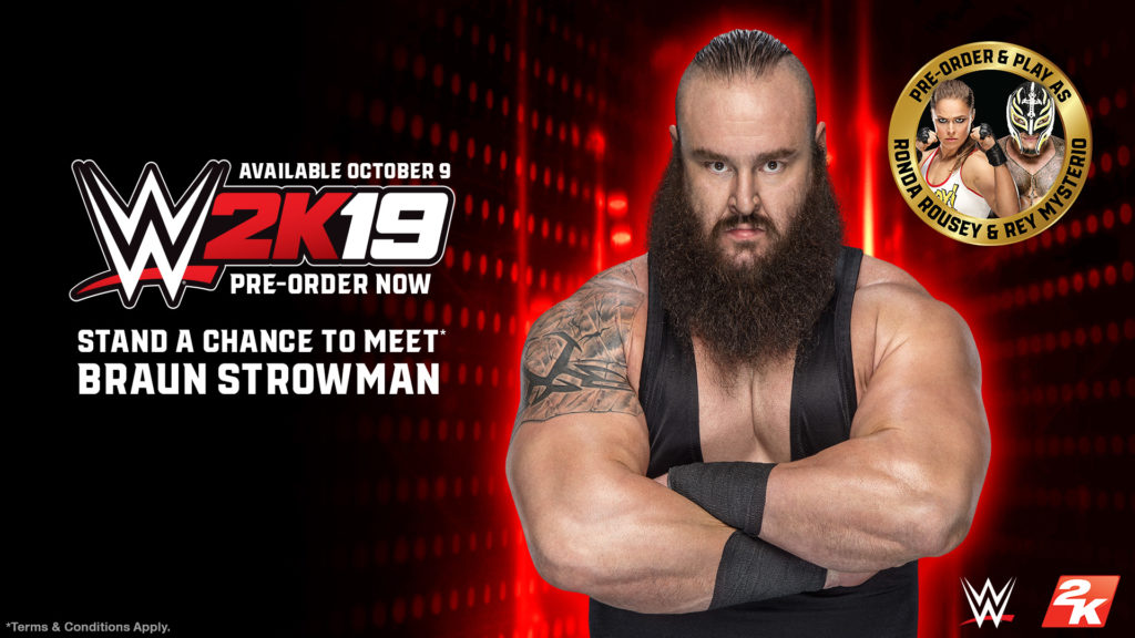 WWE 2K19 Braun Strowman Meet and Greet