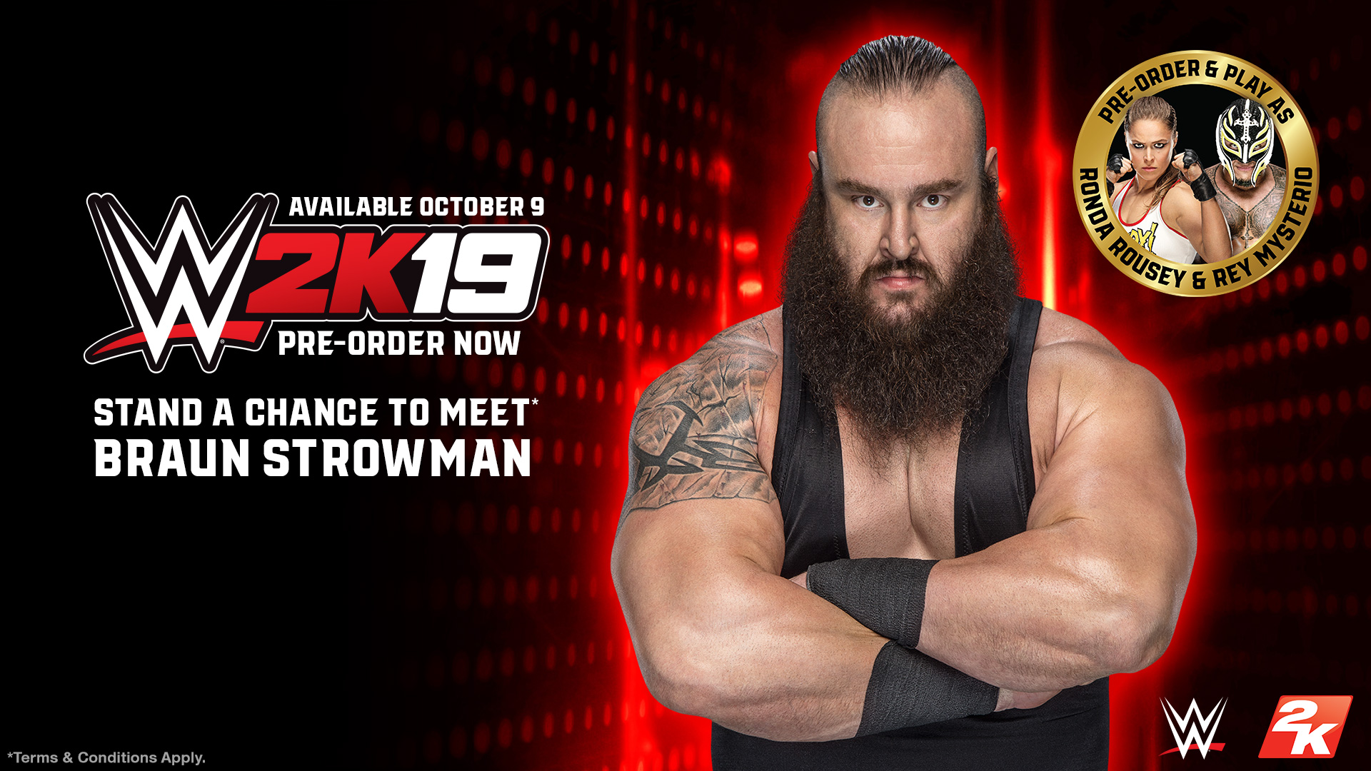 WWE 2K19 Braun Strowman Meet and Greet