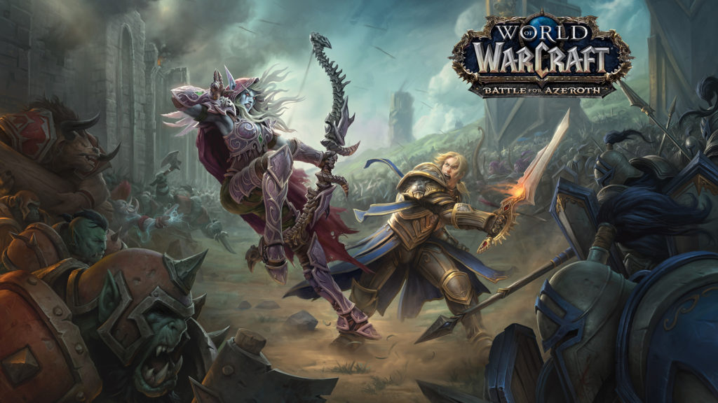 Games in August in 2018 - World of Warcraft: Battle for Azeroth