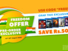 Games The Shop Freedom Offer 2018