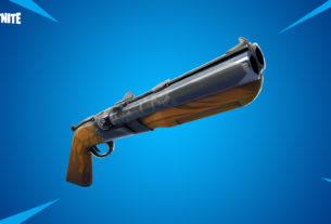 Fortnite v5.20 Patch - Double Barrel Shotgun