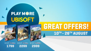 Ubisoft Blockbuster Games on PS4
