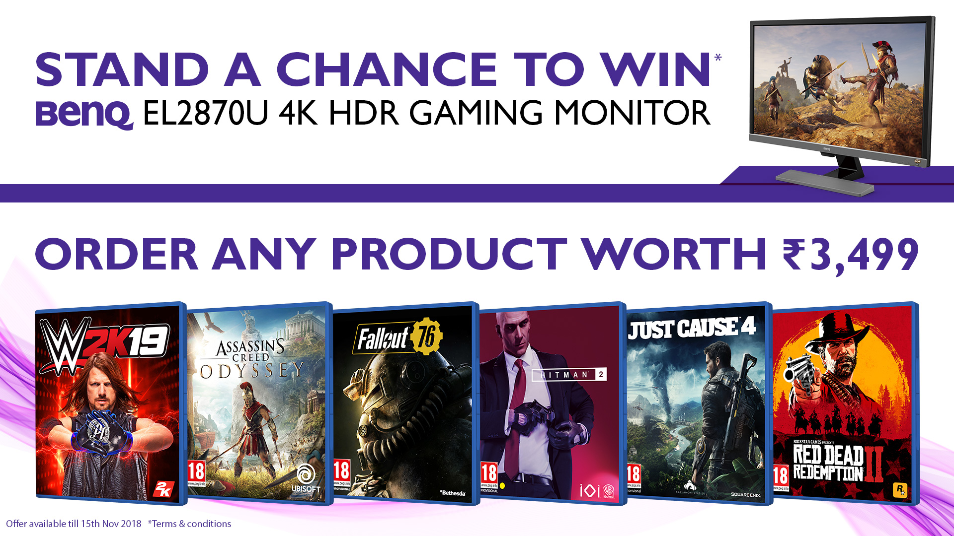 WIN 4K HDR Gaming Monitor