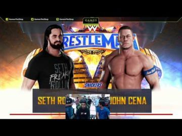 WWE 2K18 Road to Wrestlemania Tournament - Top 8 Match 4 - Manan Sanghvi vs Bibek Samal